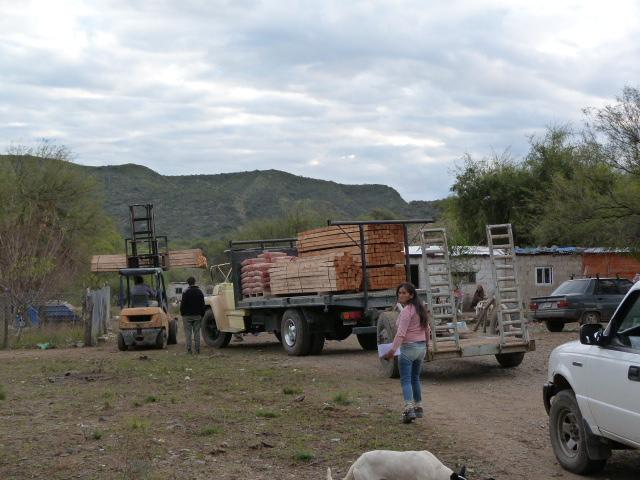 San Luis Finaliz La Entrega De Materiales Para Construir